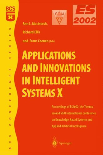 Applications and Innovations in Intelligent Systems X pdf