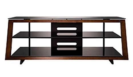 Amazon Com Bello Avsc2121 Av Stand Holds Upto 46 Inch Tv Brown
