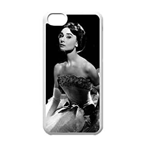 C-EUR Print Audrey Hepburn Pattern Hard Case for iPhone 6 plus 5.5''