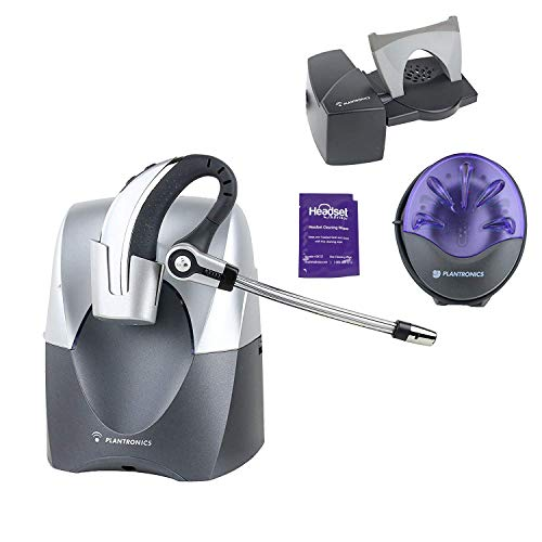 Plantronics CS70n Wireless Headset System with Lifter and Online Indicator (Renewed) ()
