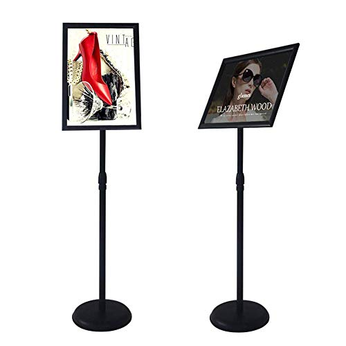 (YDisplay Sign Holder Stand with Base Display 11x17inches Pedestal Sign Stand for Church Shool Office)