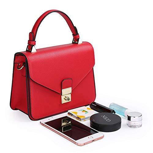 Las Blue Bolsas Bolsos Royal Magai Red De Los Asas color Señoras Hombro Rfx4Oxq