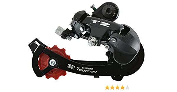 Shimano Tourney RD-TZ50 - Cambio de marchas de bicicleta trasero 6 ...