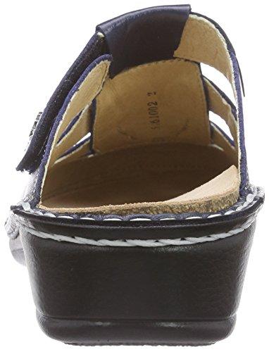 Finn Comfort Java, Women's Clogs Blue - Blau (Ozean)