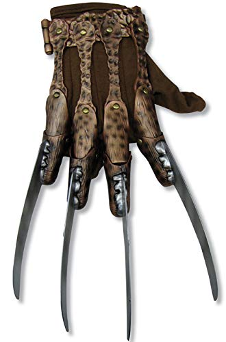 Rubie's mens Freddy Krueger fleece Costume Accessory Glove, Multi, One Size -