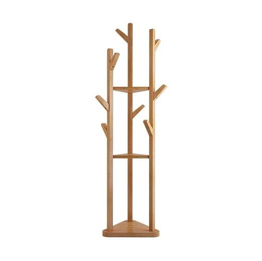 MI ER Perchero Simple Creativo Salón Perchas Ropa de bambú ...