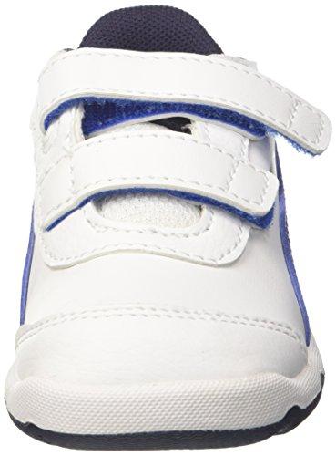 Puma Stepfleex 2 SL V Inf, Zapatillas Unisex Niños Blanco (Puma White-turkish Sea-peacoat)