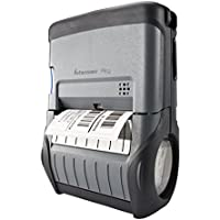 Intermec PB32A20804000 Series PB32 3 Rugged Mobile Direct Thermal Label-Receipt Printer, WLAN FCC, RS232 Serial and USB, Liner less without Reader, 16 MB Ram/64 MB Flash, 203 dpi, 4 ips