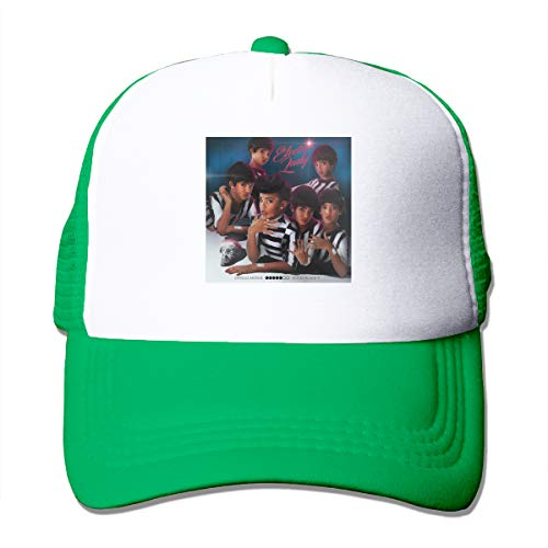 Shayprove Female & Man Unisex Print with Janelle Monae The Electric Lady Adult Mesh Caps Adjustable Green (Green Janelle)