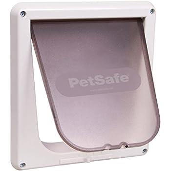 PetSafe Interior 4-Way Locking Cat Door, White