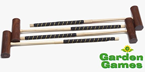 Set of 4 G.G. Croquet Mallets - Townsend by Garden Games