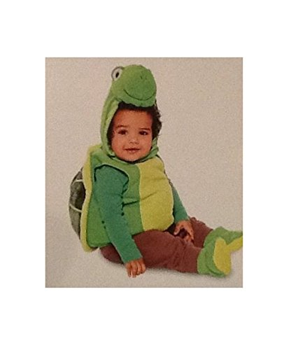 Plush TURTLE ~ INFANT COSTUME ~ SIZE 0-6 MONTHS -