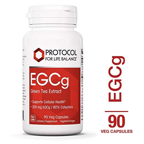 Protocol For Life Balance – EGCg – Green Tea Extract Supports Cellular Health, Supports Brain Function, Natural Energy Boost, Metabolism Support, Rich in Antioxidants – 90 Veg Capsules Review