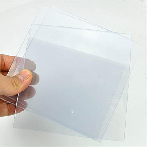 Dental Lab Vacuum Forming Plastic Sheets Thermoforming Plastic Sheet Splint Material Hard 20pcs by Angelwill