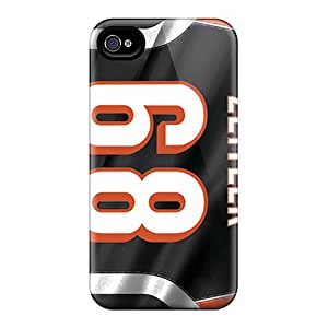 Protective Hard Cell-phone Case For Iphone 4/4s With Support Your Personal Customized Nice Cincinnati Bengals Skin CharlesPoirier