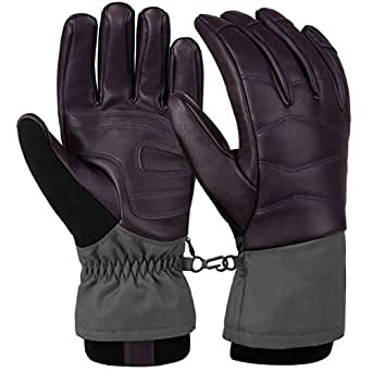 Amazon.com: VBG VBIGER Ski Gloves Waterproof Winter Gloves