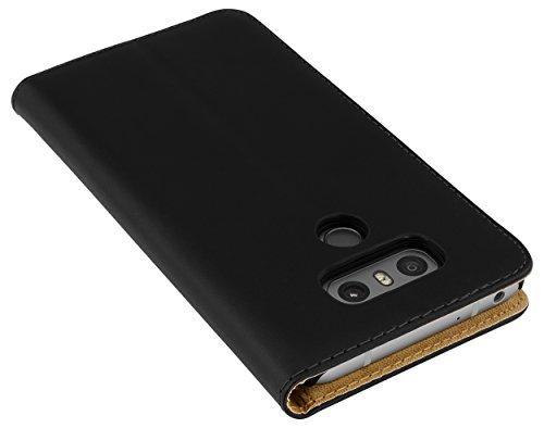 mumbi Tasche im Bookstyle für LG G6 Tasche