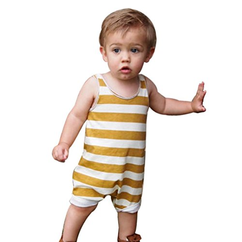 gbsell-newborn-baby-boys-girls-sleeveless-striped-romper-summer-clothes-outfits-yellow-0-6-month