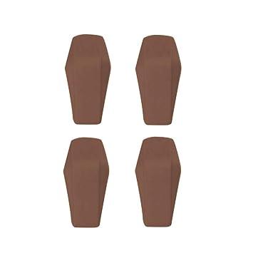 AOLVO Schubladenstopper 4 St/ück Kunststoff Schubladenstopper selbstklebend Anti-Pinch Schubladenstopper Pads f/ür Schr/änke und Schubladen Coffee