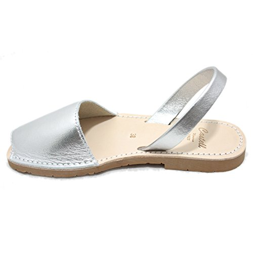 Castell Women's Fashion Sandals Silver fAU8bBDT