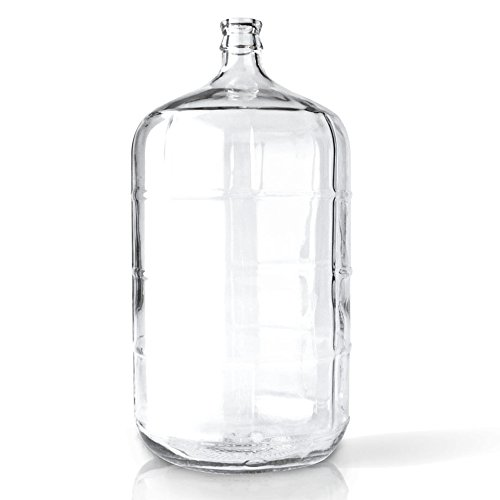 6 Gallon Italian Glass Carboy with Cork Neck Finish - Individually Sold by PACKAGING OPTIONS DIRECT POWERED BY TRICORBRAUN