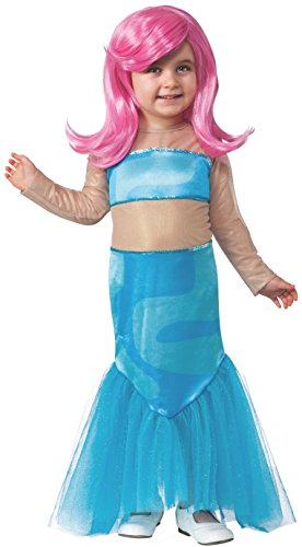 Bubble Guppies Costumes (Rubies Bubble Guppies Deluxe Molly Costume with Wig, Child Small)