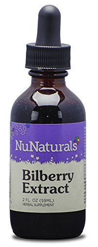 NuNaturals - NuStevia - Liquid Bilberry Stevia Extract - Alcohol Free - 2 Ounce (Bilberry Liquid Extract)