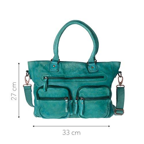 DuDu 580-1087-33, Borsa a spalla donna Verde verde compact