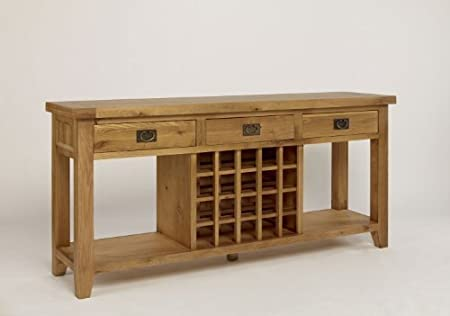 Groovy Chiltern Grand Oak 3 Drawer Wine Console Table By Chiltern Camellatalisay Diy Chair Ideas Camellatalisaycom