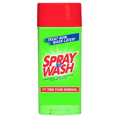 Stain N Spray Stick Wash - SPRAY 'n WASH 81996CT Pre-Treat Stain Stick, White, 3 oz, (Case of 12)