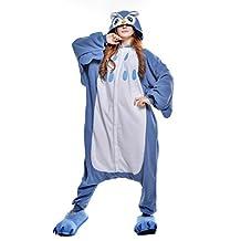 Canasour Unisex Adult Pajamas- Plush One Piece Costume