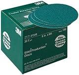 3M Green Corps Stikit Production Disc 01551, 8'', 36E, 50 discs/bx (3M-1551)