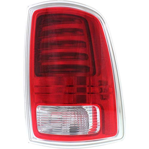 New Right Passenger Side Led Tail Light Assembly For 2013-2018 Ram 1500, 2500 & 3500 Pickup, Chrome, Laramie and Longhorn Models CH2801203