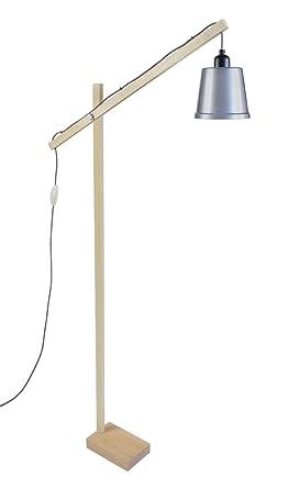 pilori Factory de madera pie Book 95250 lámpara Tosel de e y8nw0OPvmN