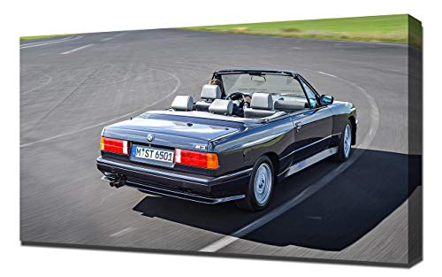 (Lilarama USA 1988-BMW-M3-Cabrio-V4 Canvas Art Print - Wall Art - Canvas Wrap )