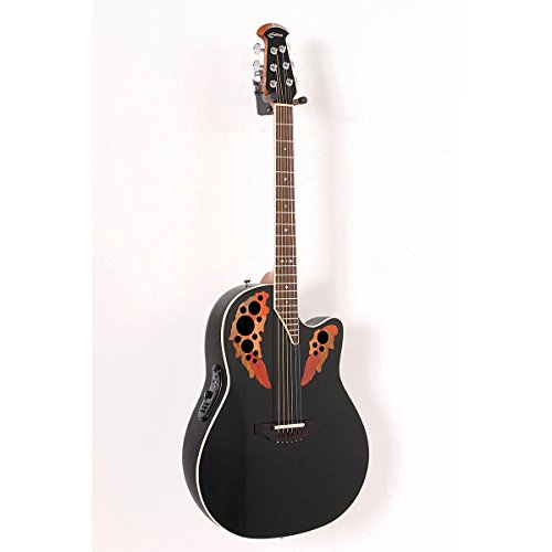 Ovation Standard Elite 2778 AX Acoustic-Electric Guitar Black 888365005027