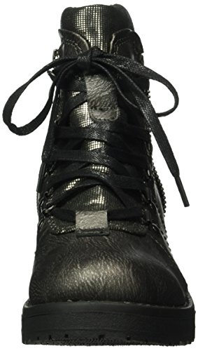 Marco Tozzi 25212, Botines para Mujer Plateado (PEWTER ANT.COM 935)