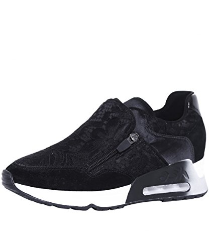 Ash Footwear Look Lace Black Lace Trainer 40EU/7UK Black