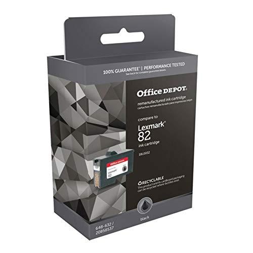 Office Depot(R) Model L82 Remanufactured Black Ink Cartridge