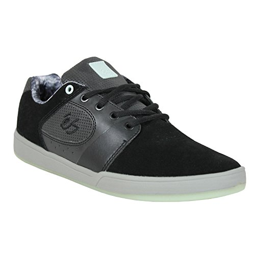 ES Skateboard Shoes ACCELERATE BLACK/GREEN Size 8