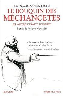 Book's Cover ofLe bouquin des méchancetés