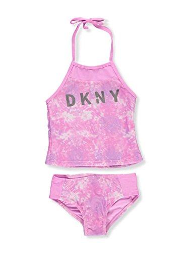 DKNY Girls' 2-Piece Tankini - Pink, 3t by DKNY