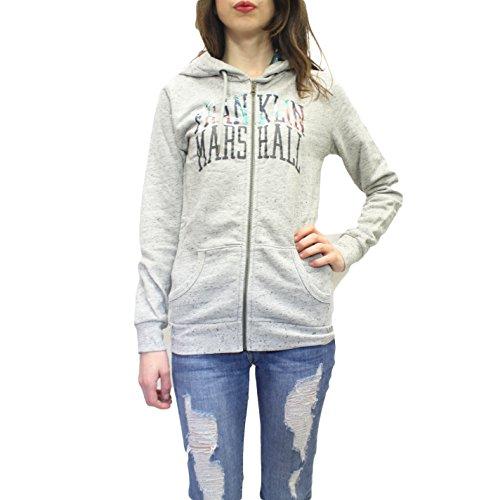 FM - Sudadera con capucha - para mujer Lig/gri/mel