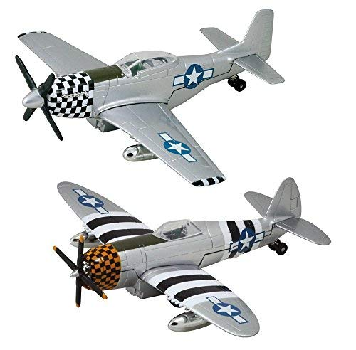 rplanes - P-47 Thunderbolt & P-51 Mustang - Set of 2 ()