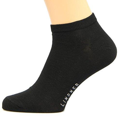 Pack de 3 calcetines tobilleros Max Lindner Negro 48, 49, 50: Amazon.es: Ropa y accesorios