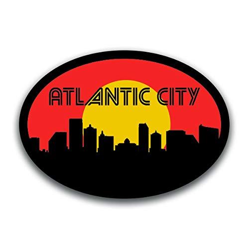 Atlantic City New Jersey Vinyl Decal Sticker | Cars Trucks Vans SUVs Windows Walls Cups Laptops | Full Color Printed | 5.5 Inch | KCD2582