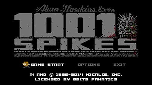 1001 Spikes - Wii U [Digital Code] by Nicalis
