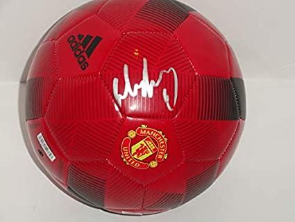 Wayne Rooney Signed Adidas Manchester United Soccer Ball World Cup Proof Jsa Coa At Amazon S Sports Collectibles Store