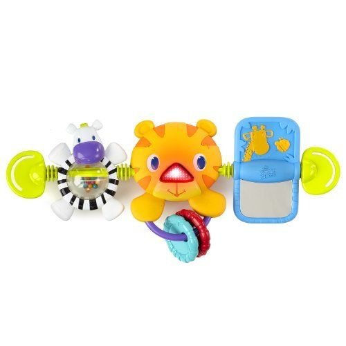 Bright Starts Take Along Carrier Toy Bar New