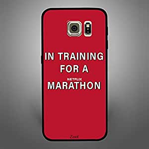 Samsung Galaxy S6 Edge In training for a Netflix Marathon